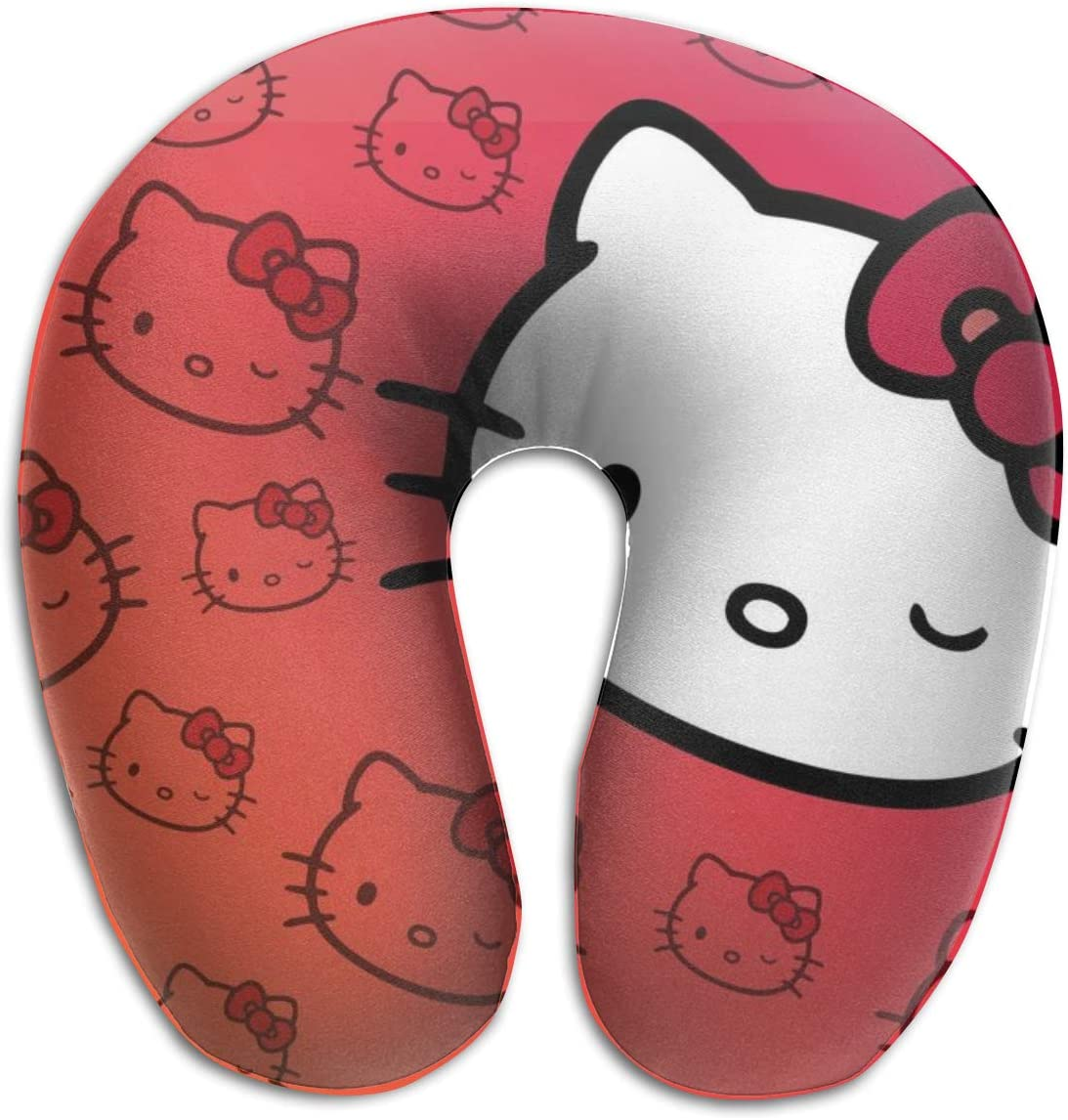 2in1 Hello Kitty Pillow Cushion /& Supersoft Plush Bedroom Blanket Throw Cover