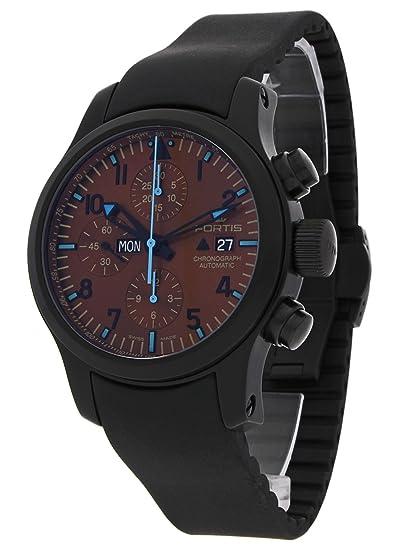 Fortis Hombre Reloj de pulsera b de 42 Blue Horizon Fecha Día de la semana Cronógrafo