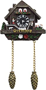 Germany 3D Cuckoo Clock Refrigerator Magnet Tourist Souvenirs Resin Magnetic Stickers Fridge Magnet Home & Kitchen Decoration from China
