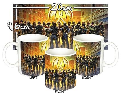 MasTazas Counter-Strike Global Offensive Taza Mug