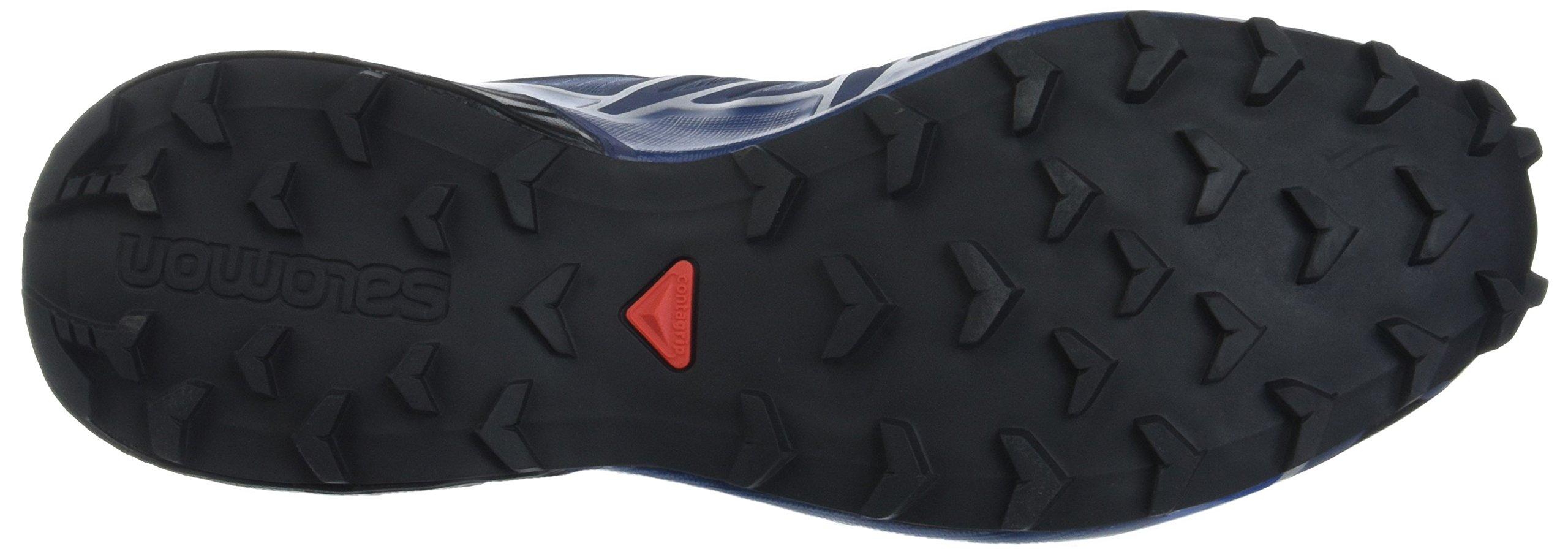 Salomon Men's Speedcross 4 Trail Runner, Slate Black/Blue Yonder, 7 D US by Salomon (Image #3)