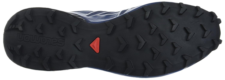 Salomon Men's Speedcross 4 Trail Runner B017SR4WBA 12 D(M) US|Slate Blue/Black/Blue Yonder