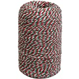 Tenn Well 656 Feet 200m Cotton Baker Twine Perfect For Gift Wrapping, Baking, Butchers, Crafts