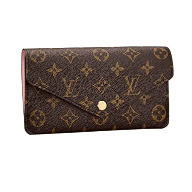 Images For Louis Vuitton Made In France >> Louis Vuitton Monogram Canvas Jeanne Wallet M62203 Rose Balleria