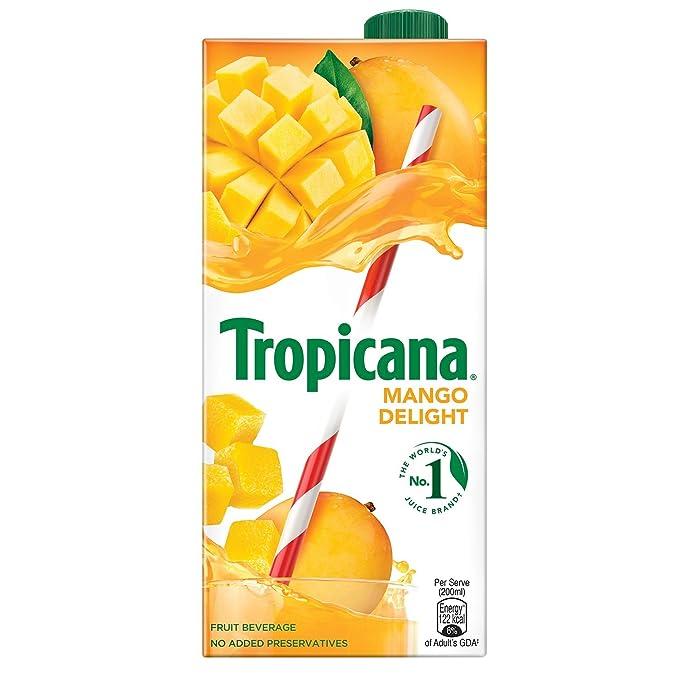 78bde1d246cd6 Tropicana Mango Delight Juice, 1000ml: Amazon.in: Grocery & Gourmet Foods