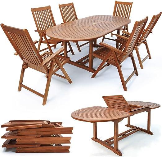 SSITG Sillas para Madera Jardín – Muebles de Jardín Sillas Plegables: Amazon.es: Jardín
