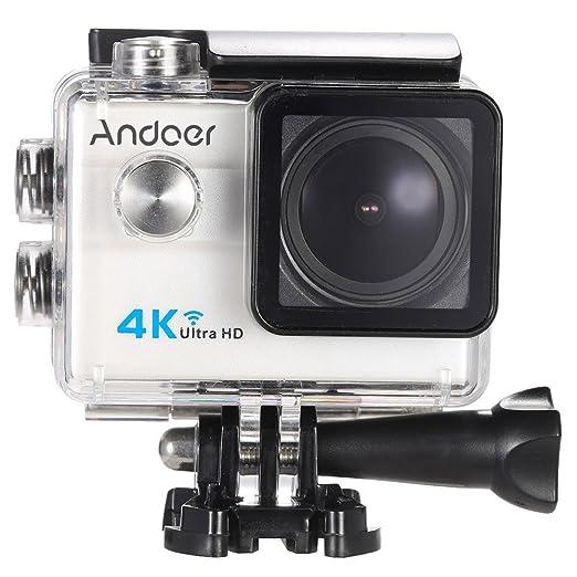 "47 opinioni per Andoer® 2.0 ""LCD 4K WiFi Ultra HD Sport azione 16MP 25FPS 1080P 60FPS 4X Zoom"