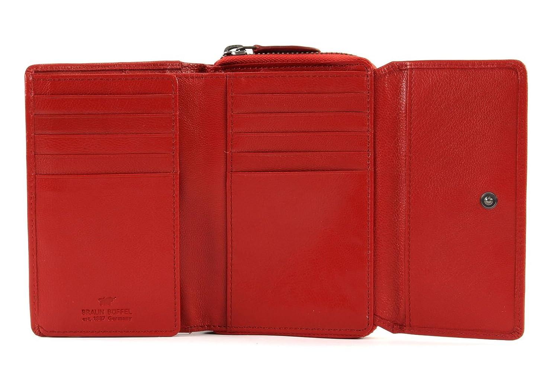 3e1e875baffd4 Braun Büffel Soave Medium Wallet Red  Amazon.de  Schuhe   Handtaschen