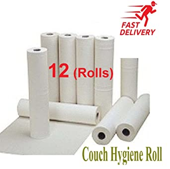 Brilliant 12 White Couch Rolls Hygiene Roll 20 Medical Salon Beauty 40M Long Rolls Unemploymentrelief Wooden Chair Designs For Living Room Unemploymentrelieforg