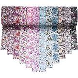 Antner Motivo Floreale Washi Tape Collection, Set di 12 Rolls