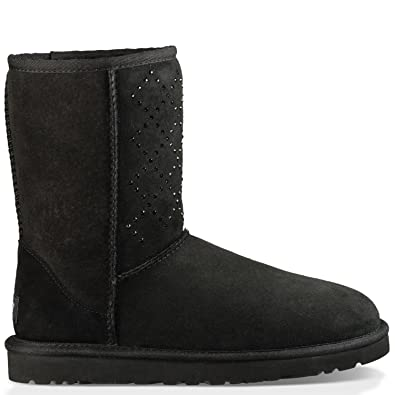 c7dac1b04d2 UGG Women's Classic Short Crystal Diamond Boot