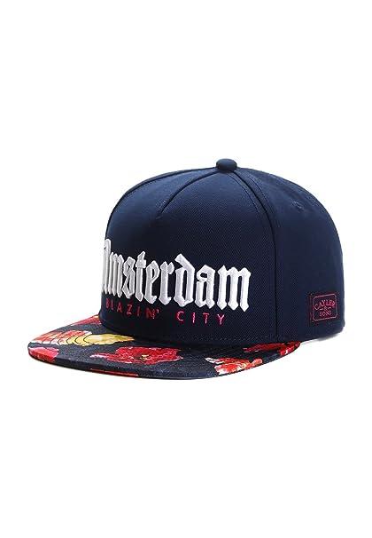 Cappellino Amsterdam Cayler   Sons Baseball cap Snapback  Amazon.it   Abbigliamento 21e41c30018e