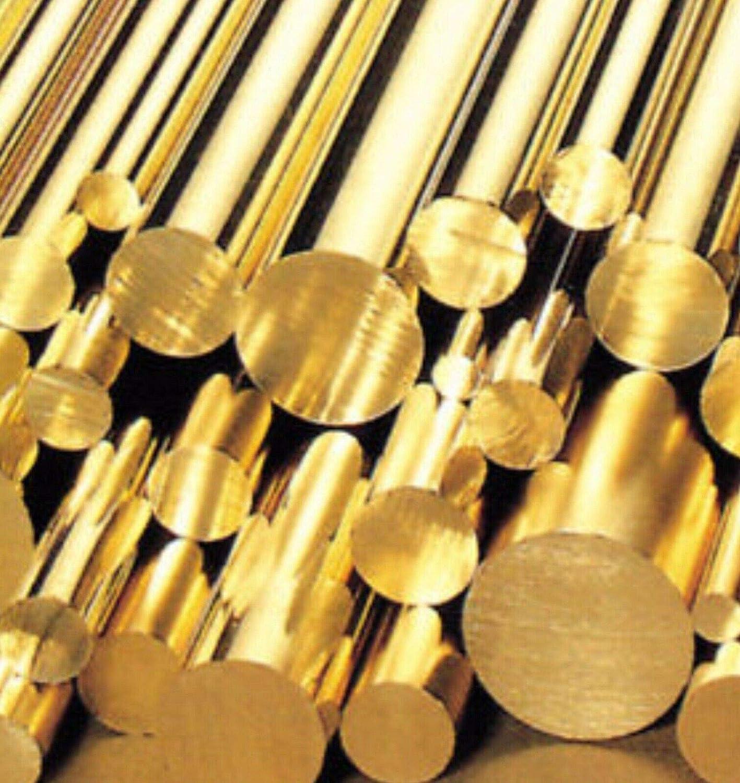 600mm Brass Round Bar 1//2 Rod C2121 Imperial Sizes