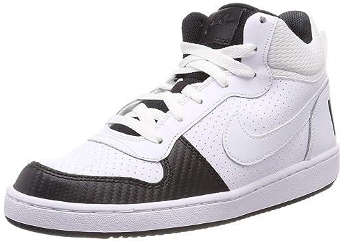 Nike Court Borough Mid, Zapatillas Altas Unisex Niños: Amazon.es ...