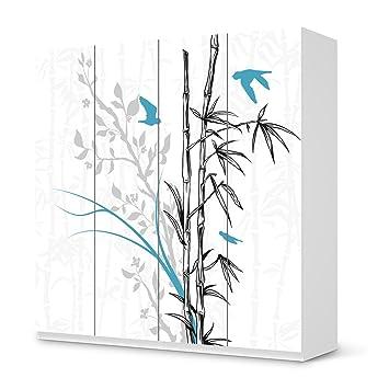 Klebefolie Sticker Aufkleber Für IKEA Pax Schrank 201 Cm Höhe   4 Türen |  Möbel Umgestalten