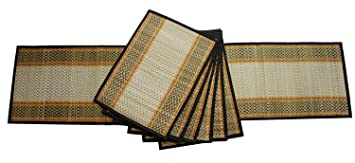 BEST DEALS Set of 6 Place Mats Table Runner for Dining Table