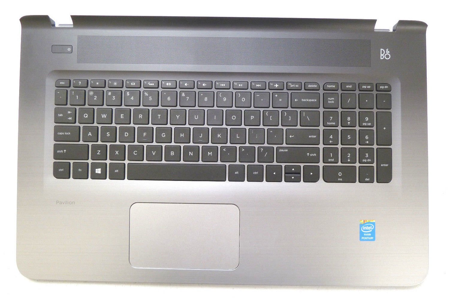 New Genuine HP Pavilion 17-G Series Palmrest Touchpad With Keyboard 811552-001 809303-001 by for HP