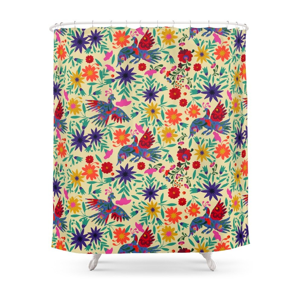 Amazon.com: Society6 Otomi Shower Curtain 71\