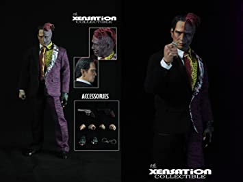 xensation collectible batman forever double two face tommy lee jones 16 scale 12