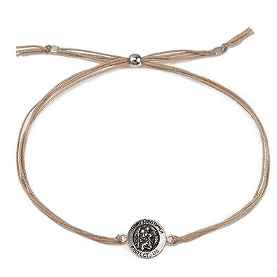 Dogeared Women Silver Charm Bracelet of Length 23cm VSB878-1A-IN JmTo9K