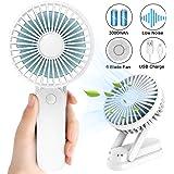 Mini Ventilador de Nebulización Ventilador de Mano con Rociador de ...