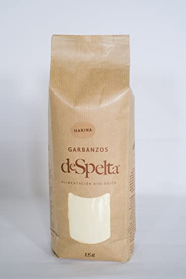 DeSpelta Harina Ecológica de Garbanzos 1kg: Amazon.es ...