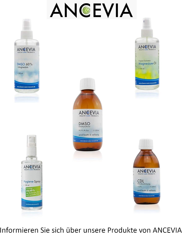 ANCEVIA® - Solución de dióxido de cloro 0.3% (250 ml) - CDS - CDL – Botella de vidrio marrón – Hecha en Alemania: Amazon.es: Salud y cuidado personal