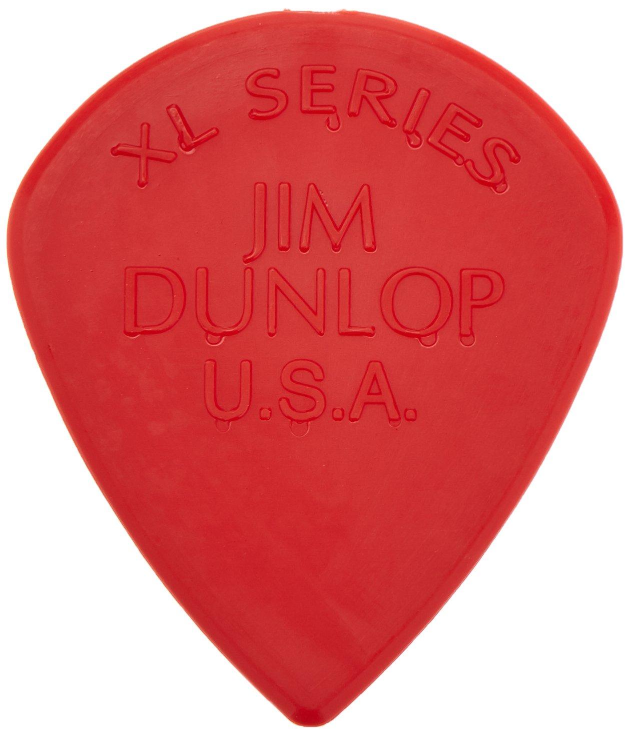 Dunlop 47RXLN Jazz III XL Nylon Guitar Picks, 24-Pack