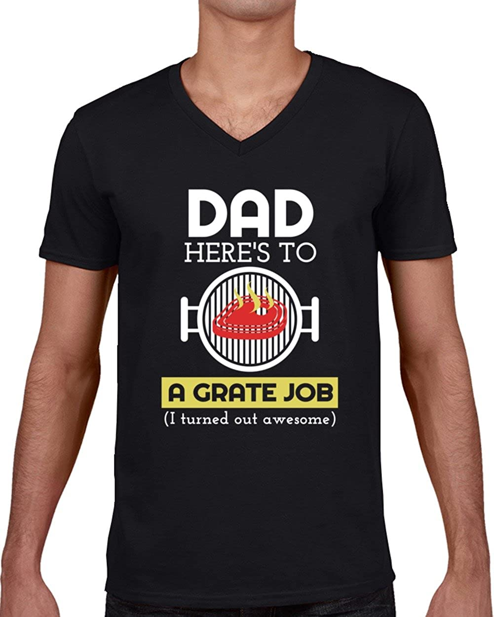 funny gift dad t shirt BBQ King fathers day