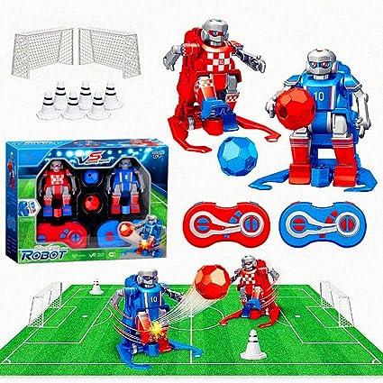 TEEKOO Juego de Robots de fútbol RC para niños, Robot de Control ...