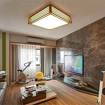 Moderne minimalistische Holzdecke Wohnzimmer Schlafzimmer Den ...