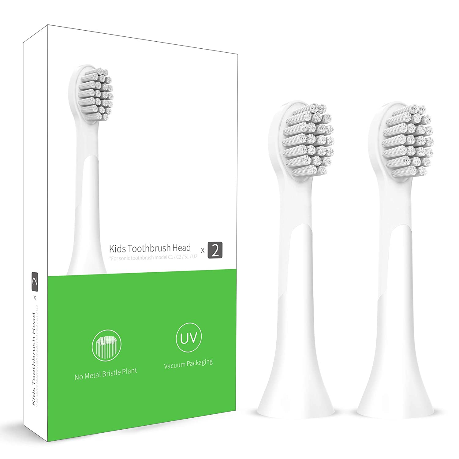 Aiwejay Children's Sonic Electric Toothbrush (Brush Heads)