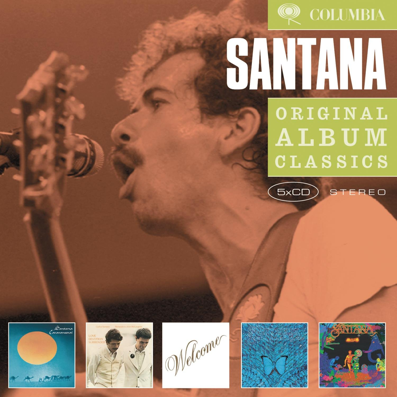 Santana: Caravanserai / Love Devotion Surrender / Welcome / Borboletta / Amigos