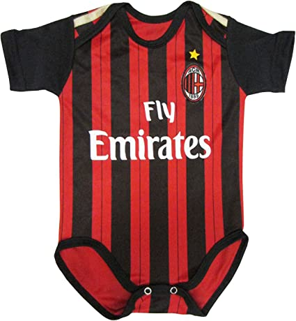 Ac Milan Home Baby Suit 0 9 Months 2014 Clothing Amazon Canada