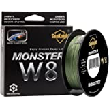 Braided Fishing Line - Advanced 8 Strand Braided Fishing Line for Maximum Casting Distance & Durability for Saltwater & Fresh Water Surf Fishing, Bass Fishing, Fly Fishing