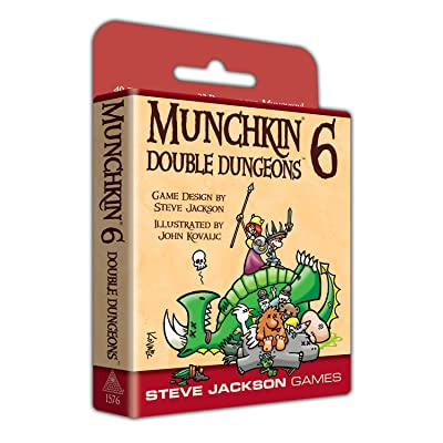 Munchkin 6 Double Dungeons: Toys & Games