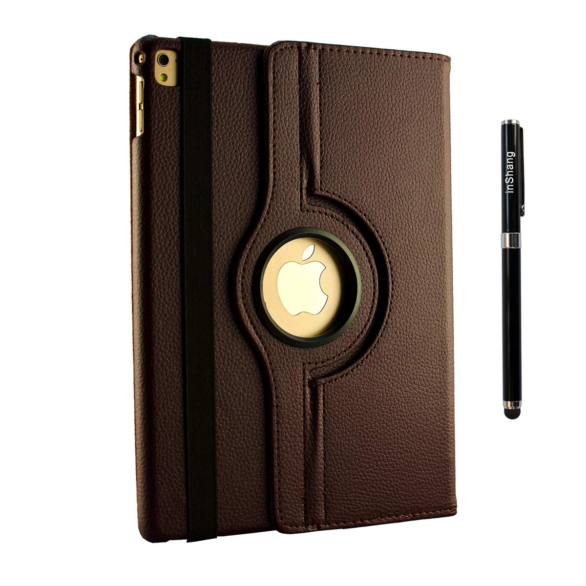 free stylus inShang 10.5 inch iPad air 3 iPad 2019 Case Smart Cover Compatible iPad Pro 10.5 inch 360 Rotating Case ,iPad Stand with Auto Sleep//Wake 2017