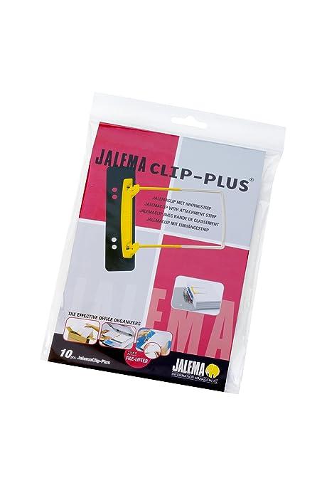 Jalema Clip-Plus - Pinza de sujeción para archivadores