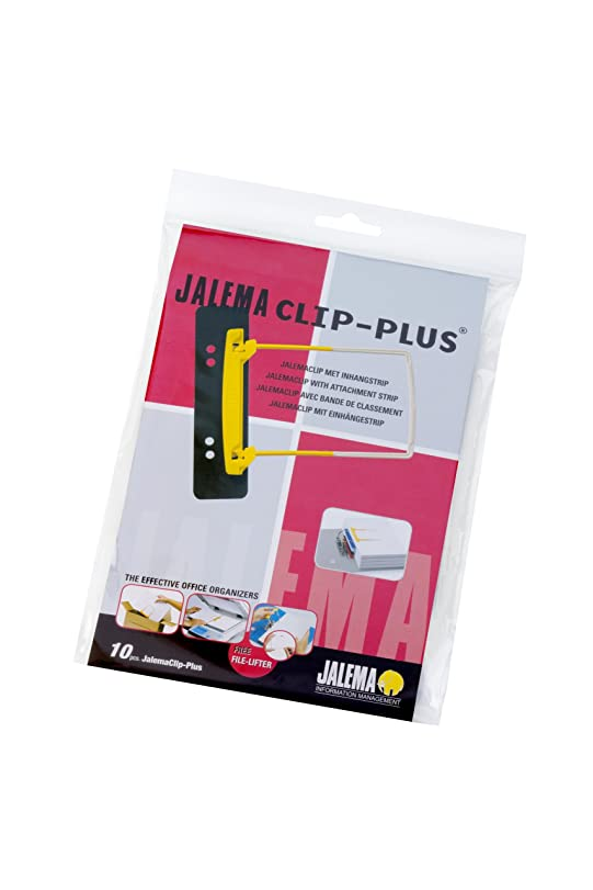 Heftstreifen ring  JALEMA Heftmechanik Clip Plus/5712600 schwarz Kunststoff Inh. 10 ...