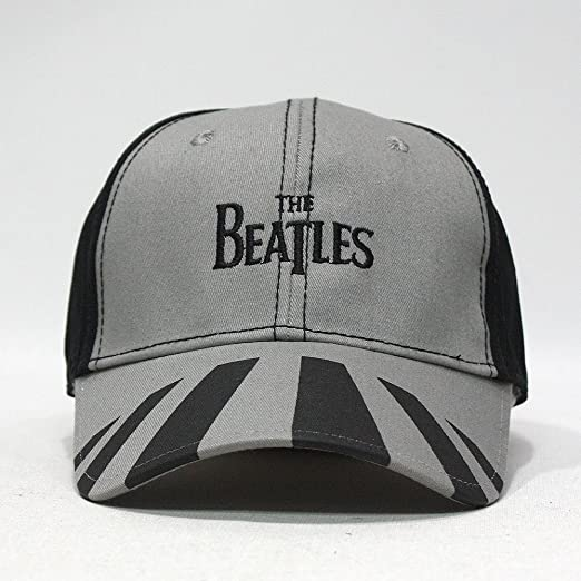 352fbae9f5b The Beatles Classic Adjustable Baseball Cap Drop T Logo Sgt Pepper Drum  Abbey Road (Abbey Road) at Amazon Men s Clothing store