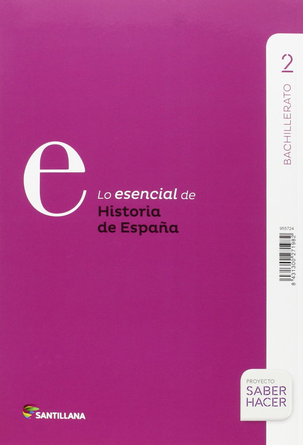 HISTORIA DE ESPAÑA C-LEÓN SERIE DESCUBRE 2 BTO SABER HACER - 9788414101841: Amazon.es: Aa.Vv.: Libros
