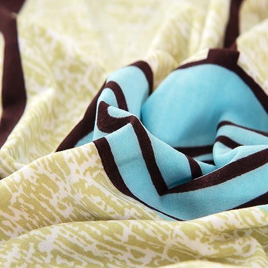 Funda de sofá estampada, reversible y lavable de Hotniu, elástica, 1 unidad, contrachapado, Pattern #21, 2 Seater for 145-185 cm: Amazon.es: Hogar