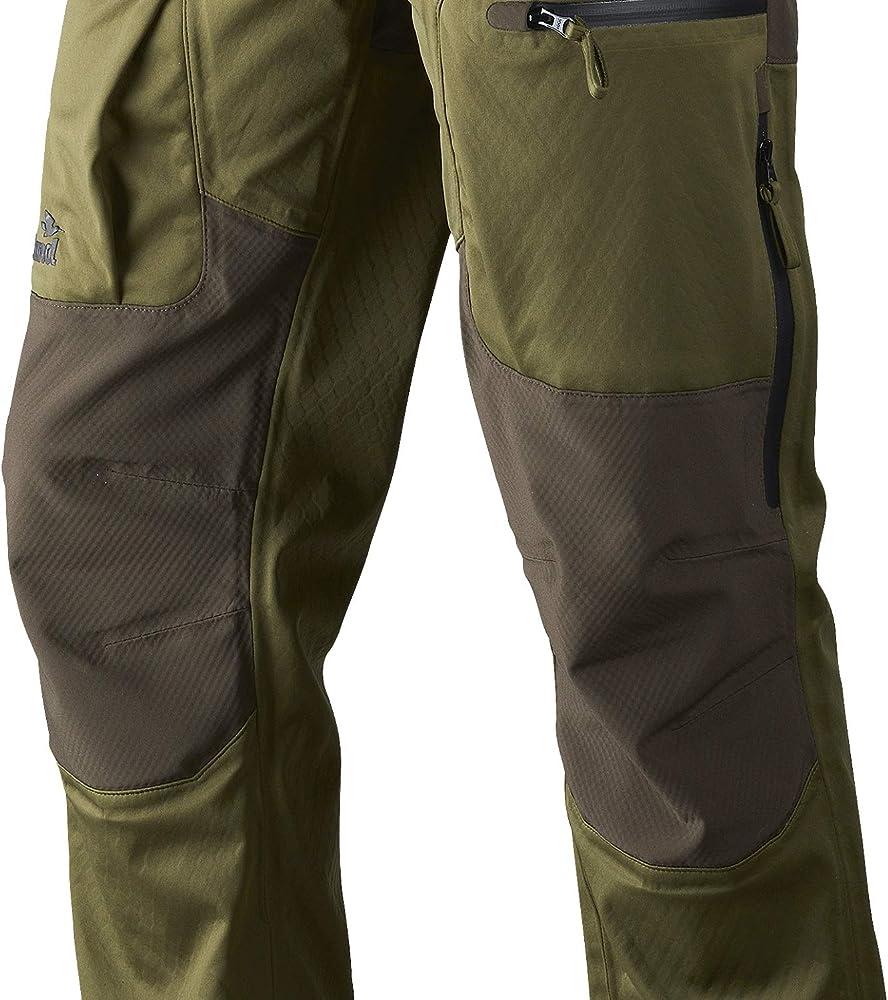 camuflaje, marr/ón, verde Seeland Pantalones de caza impermeables para hombre Hawker Shell pantalones softshell para caza con ventilaci/ón y membrana SEETEX/®