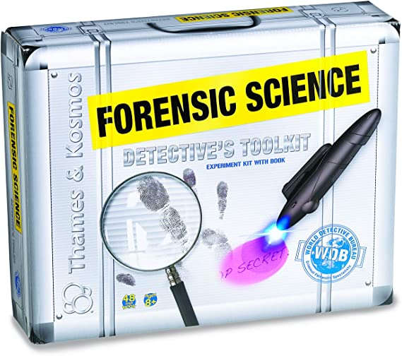 Amazon Com Thames Kosmos Forensic Science Detective S Toolkit Toys Games