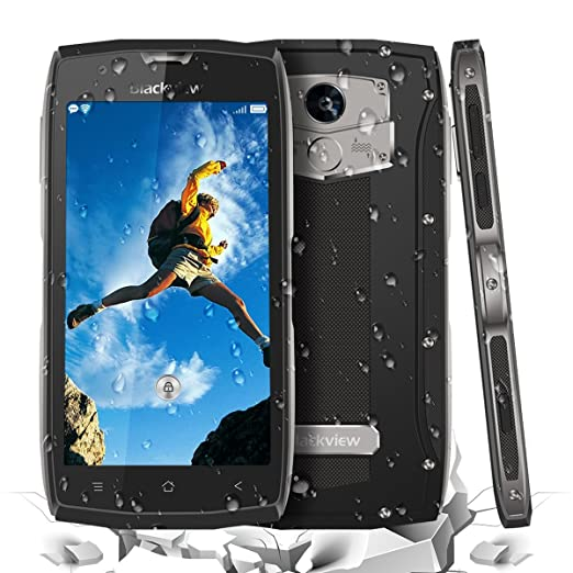 7 opinioni per Cellulari SIM-Free Blackview BV7000 Pro Cellulare Smart 5 Pollici FHD IP68