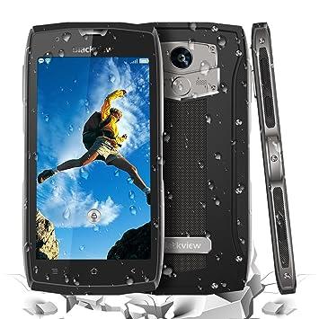 Android Smartphone Libres - Blackview BV7000 Pro Teléfonos Móviles Android 7.0 SIM-Free 5 Pulgadas Gorilla FHD IP68 Fingerprint Teléfonos Inteligentes ...