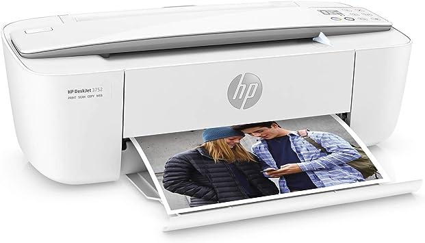 Hp Deskjet 3752 Impresora De Inyección De Tinta Inalámbrica Todo En Uno Compacta Escanea Y Copia Con Impresión Móvil T8w51a Renovada Electronics