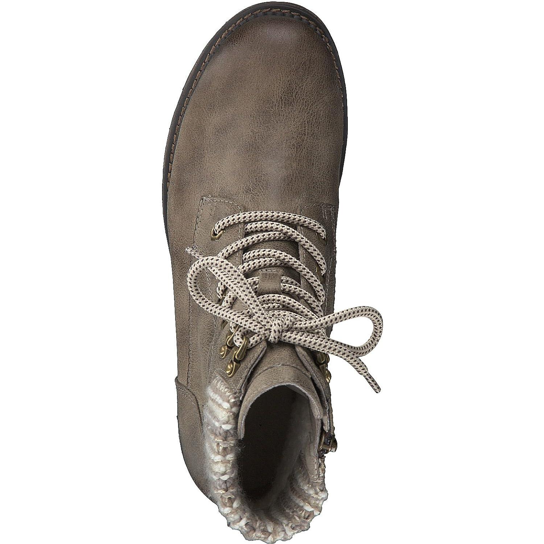 Tamaris Damen Schnürstiefelette 26249-21 Frauen Stiefel Chukka Stiefel Halbstiefel Halbstiefel Halbstiefel Schnür-Stiefelie gefüttert Winterstiefel Blockabsatz 3cm 9d2c39