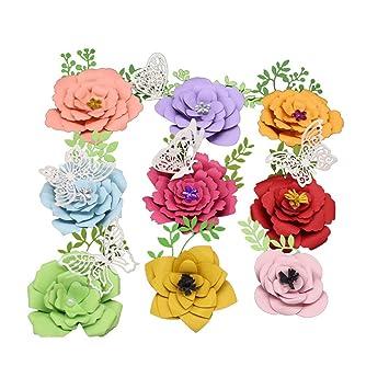4X Set Blumes Stencils DIY.Dies Scrapbooking Tagebuch Stanzschablone NEW de^new