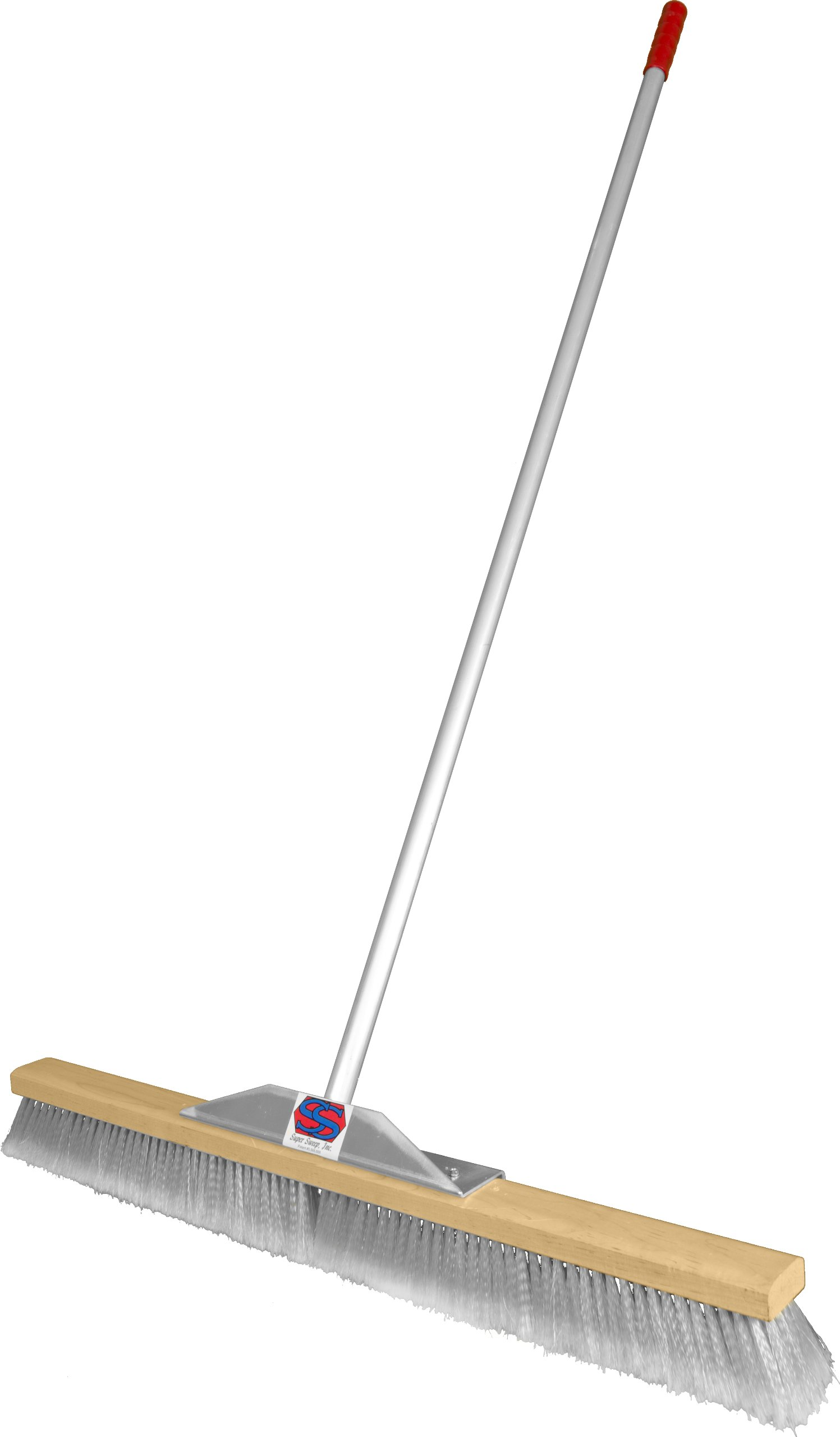 Super Sweep 36-Inch Gray Flagged Broom by Super Sweep Inc.